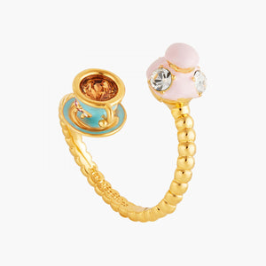 You and Me Religieuse and Tea cup ring
