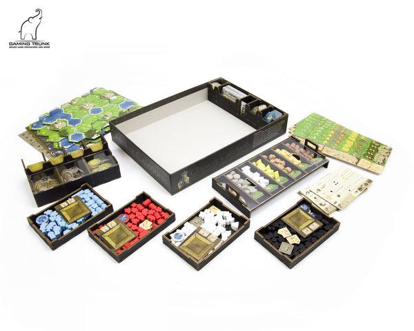 Gaming Trunk - Caledonia Organizer for Clans of Caledonia™ Revision 2 (Natural)