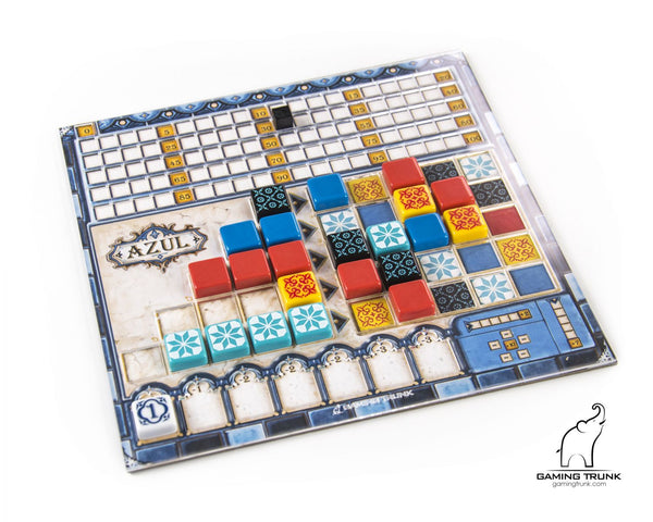 Gaming Trunk - Acrylic overlays for the Azul player board *PRE-ORDER*