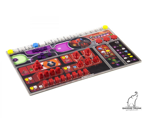 Gaming Trunk - Acrylic overlays for the Gaia Project player board *PRE-ORDER*