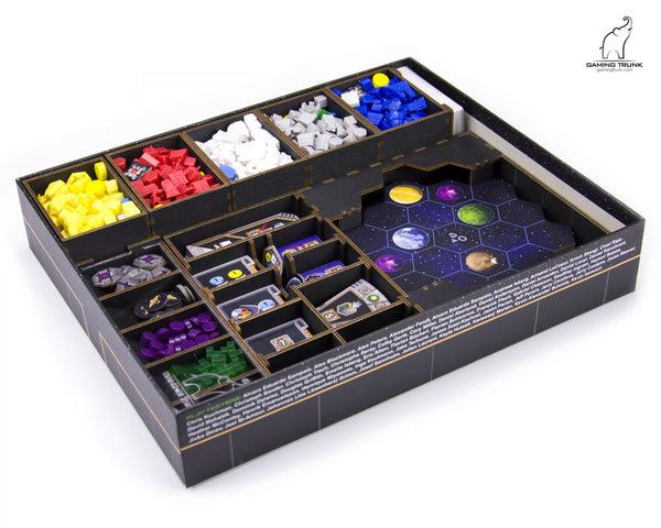 Gaming Trunk - Gaia Organizer for Gaia Project (Black)