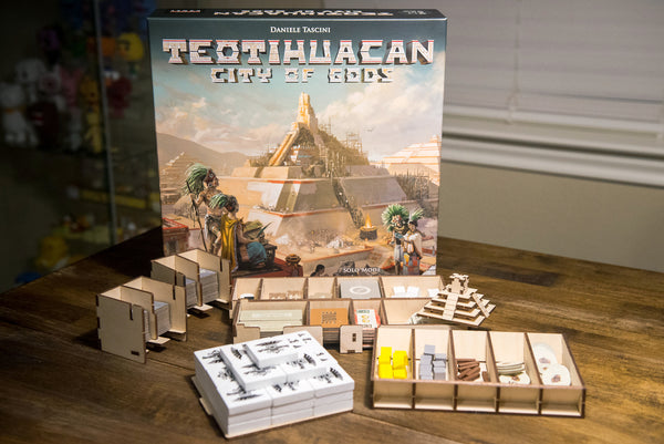 Meeple Realty - Teotihuacan Temple 2.0 (1.0 + Upgrade Kit to 2.0)