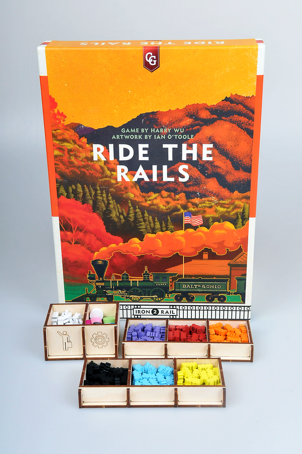 Meeple Realty - Ride the Train (Compatible with Ride The Rails)