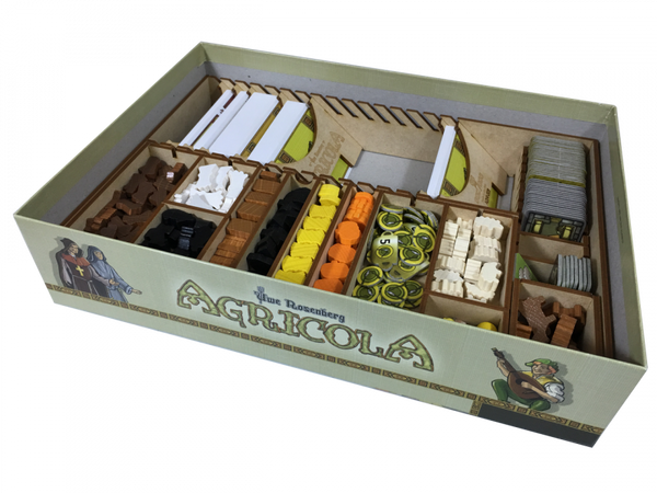 Go7 Gaming - Agricola Storage Solution (2016 edition)