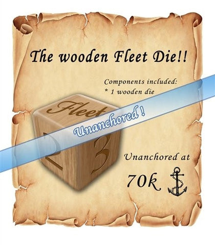 Fleet - Wooden Fleet Die