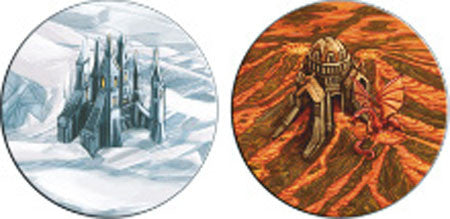 Terra Mystica: Fire & Ice - Landscapes package