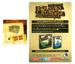Robinson Crusoe: Adventures on the Cursed Island – Runch Mini Expansion (German Import)