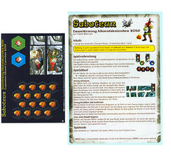Saboteur: Brettspiel Adventskalender 2016 Promo (German Import)