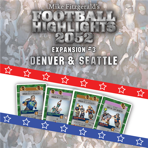 Football Highlights 2052: Expansion #3 – Denver & Seattle