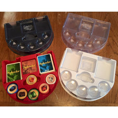 Game Trayz - Splendor Game Trayz (Clear Matte with Lids)
