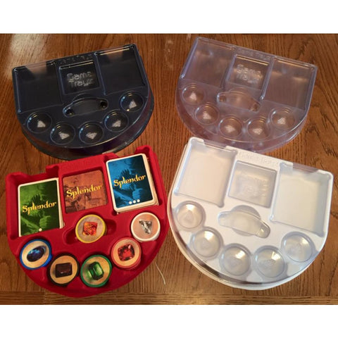 Game Trayz - Splendor Game Trayz (Black Matte with Lids)