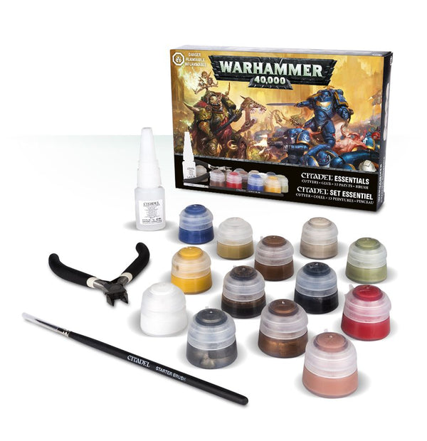 Games Workshop - Warhammer 40,000 Citadel Essentials Set