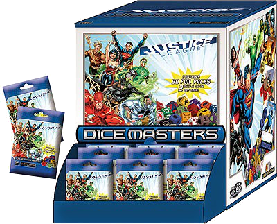 DC Dice Masters: Justice League 90 Count Gravity Feed Display