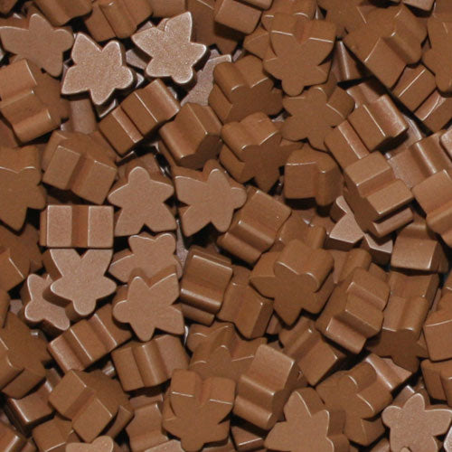 MeepleSource - Standard Meeples Pack (25 pcs) - Brown