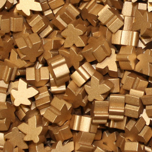 MeepleSource - Standard Meeples Pack (25 pcs) - Metallic Copper