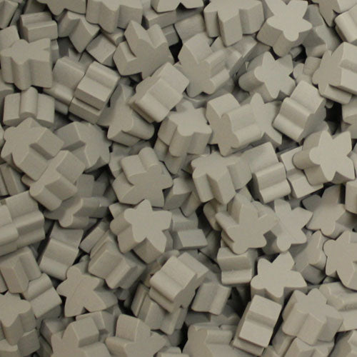 MeepleSource - Standard Meeples Pack (25 pcs) - Gray