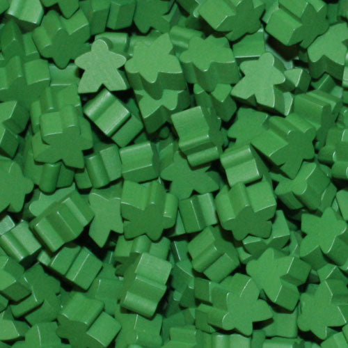 MeepleSource - Standard Meeples Pack (25 pcs) - Green