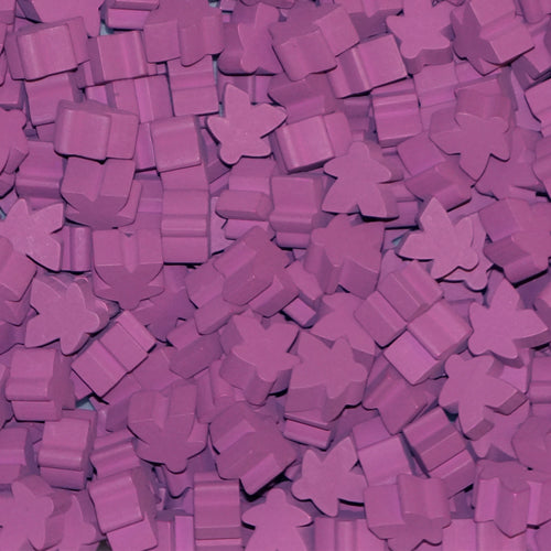 MeepleSource - Standard Meeples Pack (25 pcs) - Purple