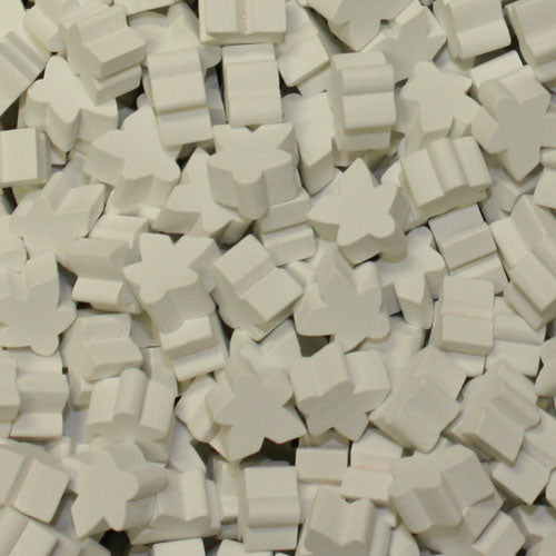 MeepleSource - Standard Meeples Pack (25 pcs) - White