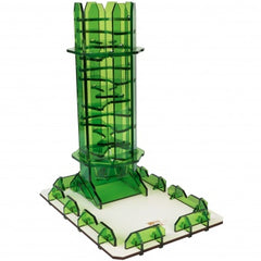 Blackfire Dice Tower - Emerald Twister