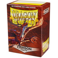 Dragon Shield - Matte Crimson