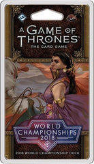 A Game of Thrones: The Card Game (Second Edition) - 2018 World Championship Deck *PRE-ORDER*