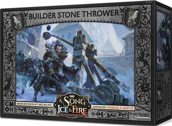 A Song of Ice & Fire: Tabletop Miniatures Game – Night's Watch - Stone Thrower Crew