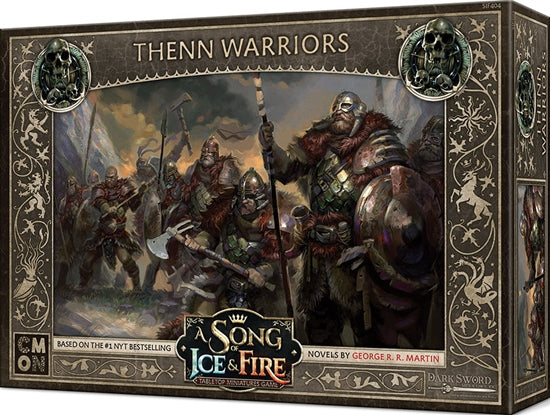 A Song of Ice & Fire: Tabletop Miniatures Game – Free Folk Thenn Warriors