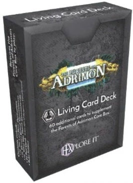 HEXplore It: The Forests of Adrimon - Living Card Deck