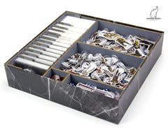 Gaming Trunk - Crossroads Organizer for Dead of Winter: A Crossroads Game (Gray)
