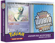 Pokemon - World Championships Deck 2008: Psychic Lock Deck - Jason Klaczynski
