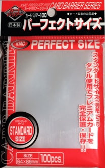 KMC Card Barrier: Perfect Fit Sleeves (100)