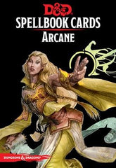 Dungeons & Dragons: Spellbook Cards - Arcane (2nd Edition)
