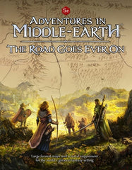 Adventures In Middle-Earth RPG: The Road Goes Ever On (Book)