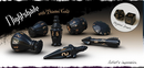 PolyHero Dice: Rouge Sets - Nightshade