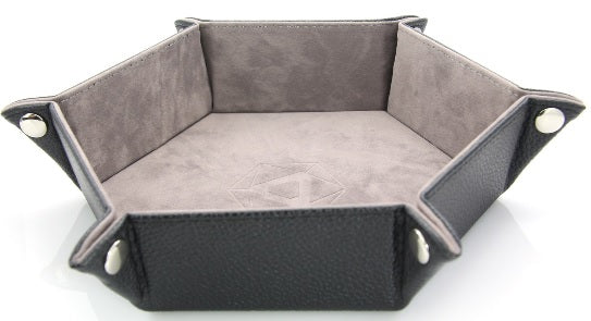 Die Hard Folding Hex Tray - Gray Velvet
