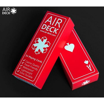 Air Deck Playing Cards - Red