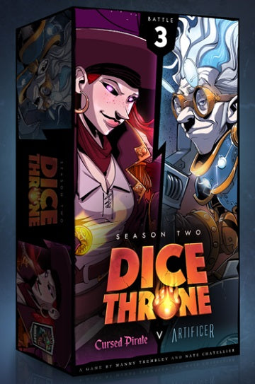 Dice Throne: Artificer vs. Cursed Pirate Season Two