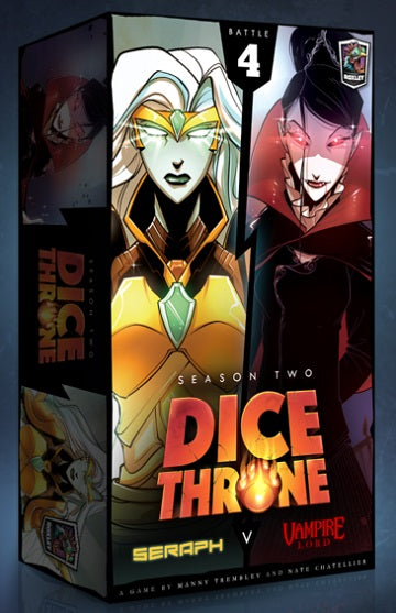 Dice Throne: Seraph vs. Vampire