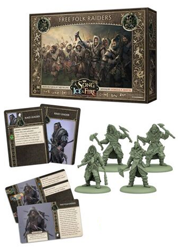 A Song of Ice & Fire: Tabletop Miniatures Game - Free Folk Raiders
