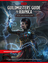 Dungeons & Dragons: Guildmasters - Guide To Ravnica - Maps And Miscellany