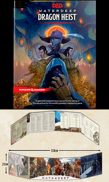 Dungeons & Dragons: Waterdeep - Dragon Heist DM Screen