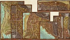 Dungeons & Dragons: Waterdeep - Wards Map Set