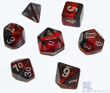 Birthday Dice - January Garnet