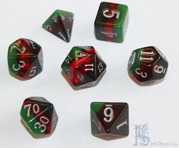 Birthday Dice - March Bloodstone