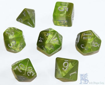 Birthday Dice - August Peridot