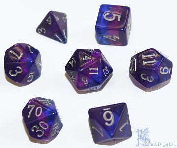 Birthday Dice - December Tanzanite