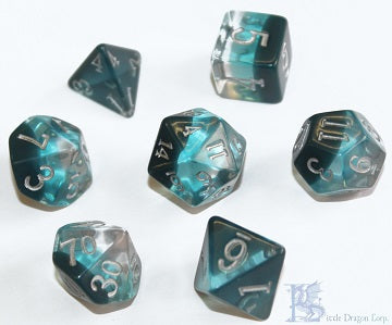 Birthday Dice - December Zircon