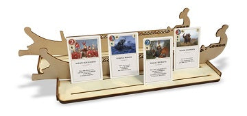 Hannibal & Hamilcar: Wooden Card Holders