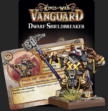 Kings Of War: Vanguard Dwarf Shieldbreaker